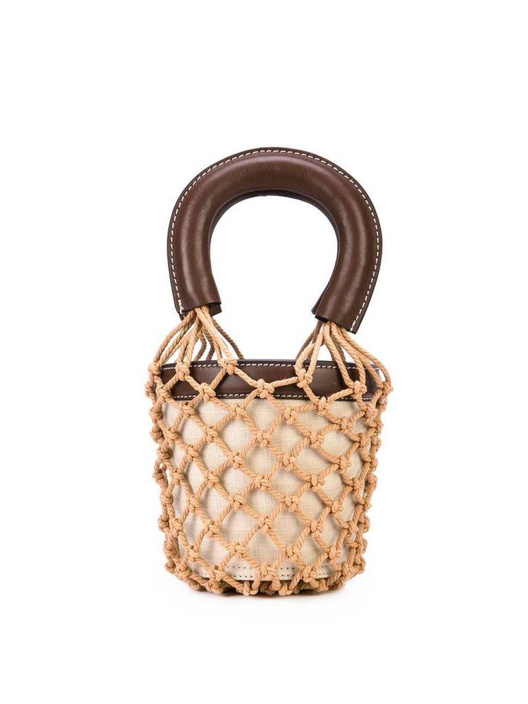 Staud Moreau bucket bag - Brown