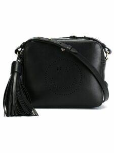 Anya Hindmarch 'Smiley' cross body bag - Black