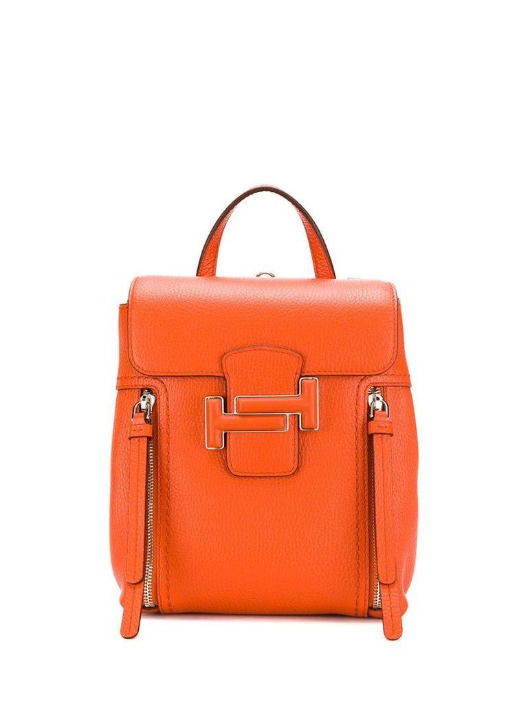 Tod's classic backpack - Orange
