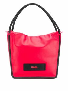 Karl Lagerfeld large shopper bag - Red