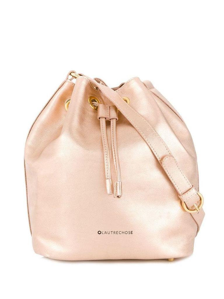 L'Autre Chose classic bucket bag - Pink