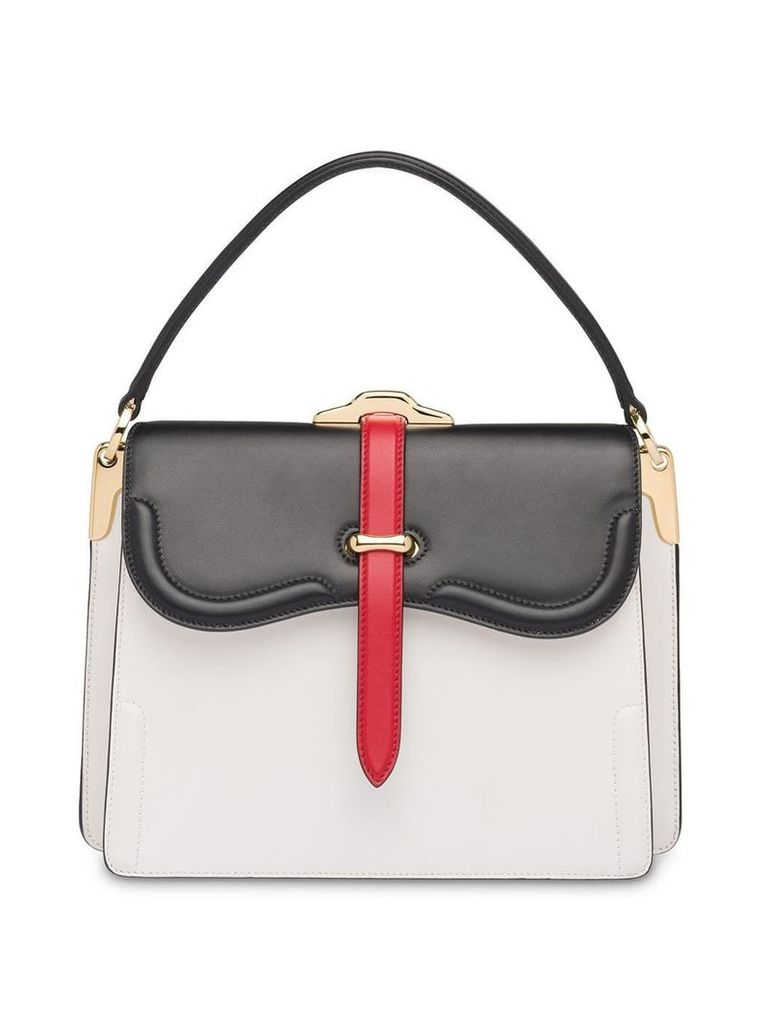 Prada Prada Belle shoulder bag - White