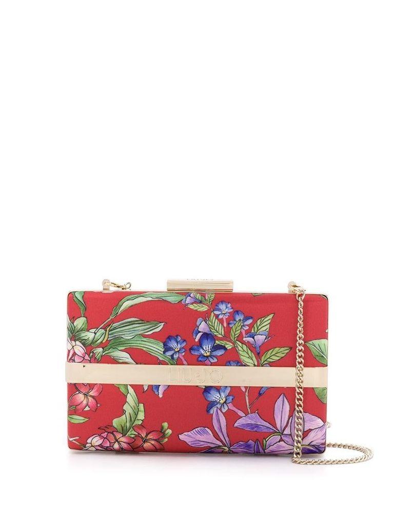 Liu Jo floral print clutch - Red