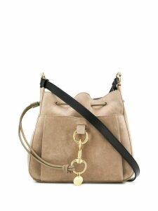 See By Chloé drawstring tote bag - Grey