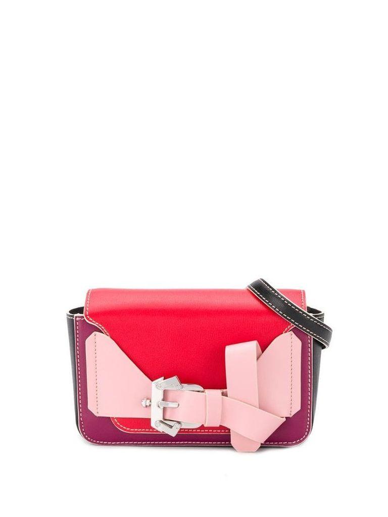 Paula Cademartori front buckle belt bags - Pink