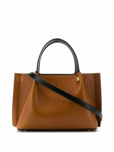 Valentino Valentino Garavani VLogo escape small tote - Brown