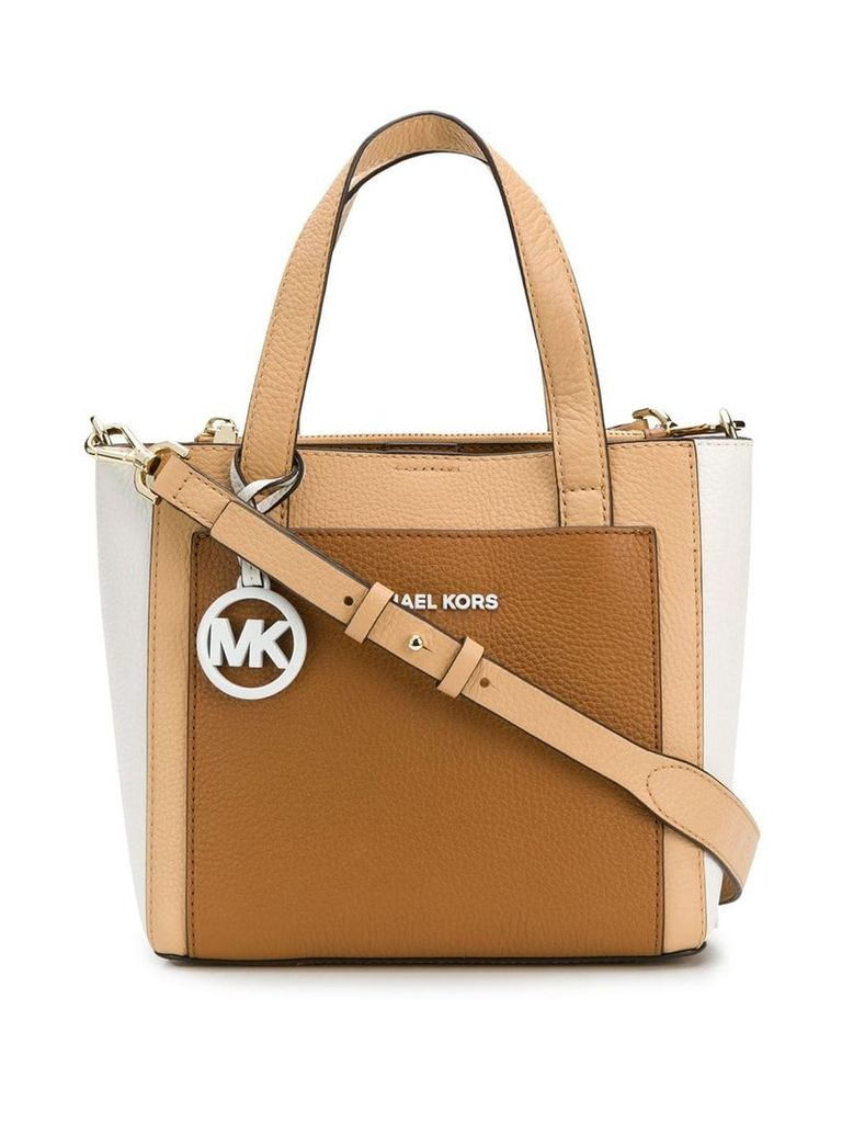 Michael Michael Kors Gemma shoulder bag - Neutrals