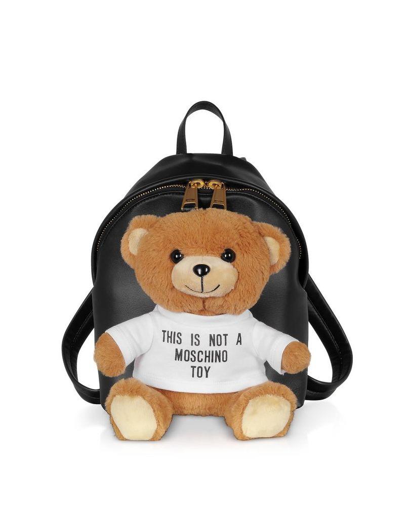Moschino Teddy Soft Toy Mini Backpack
