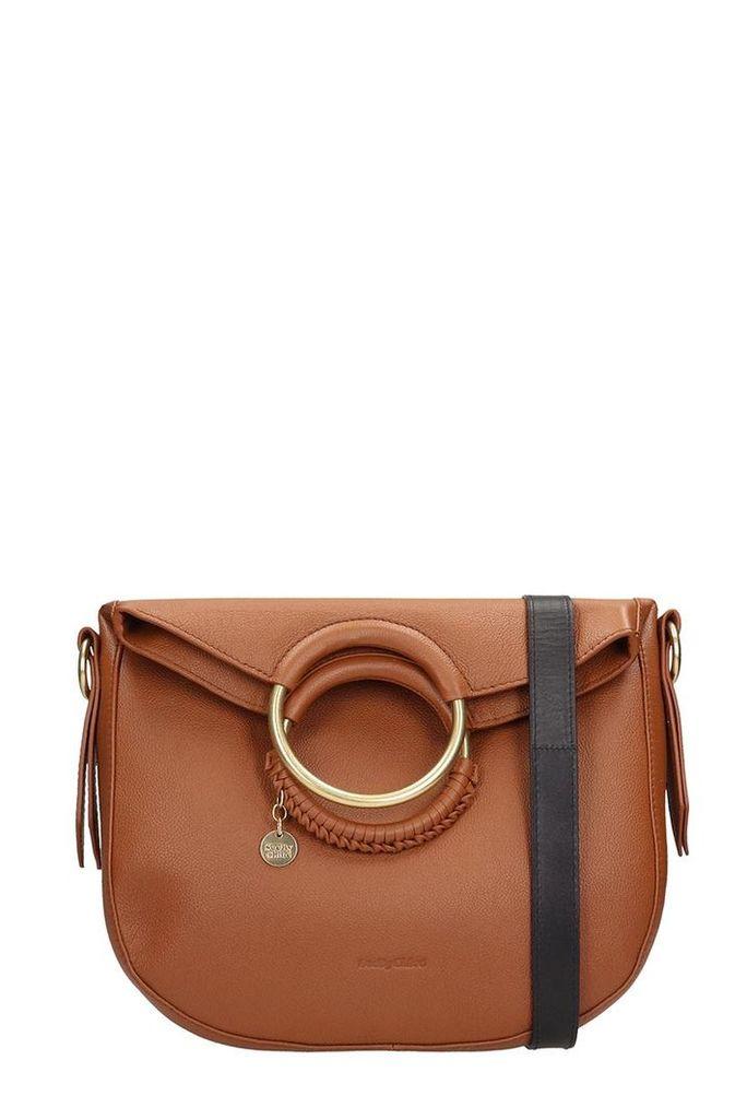 See by Chloé Browne Leather Monroe Bag