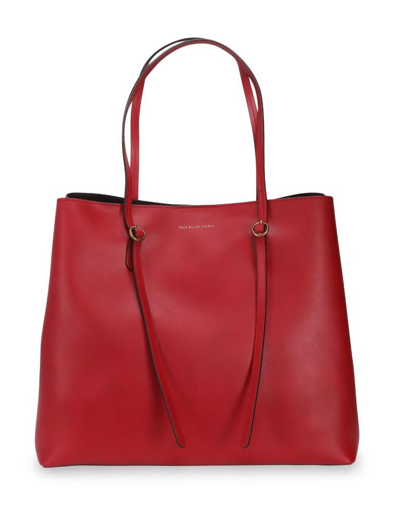 Polo Ralph Lauren Red Lennox Tote