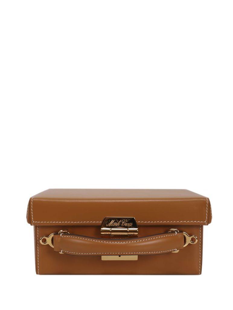 Mark Cross Brown Grace Small Box Bag