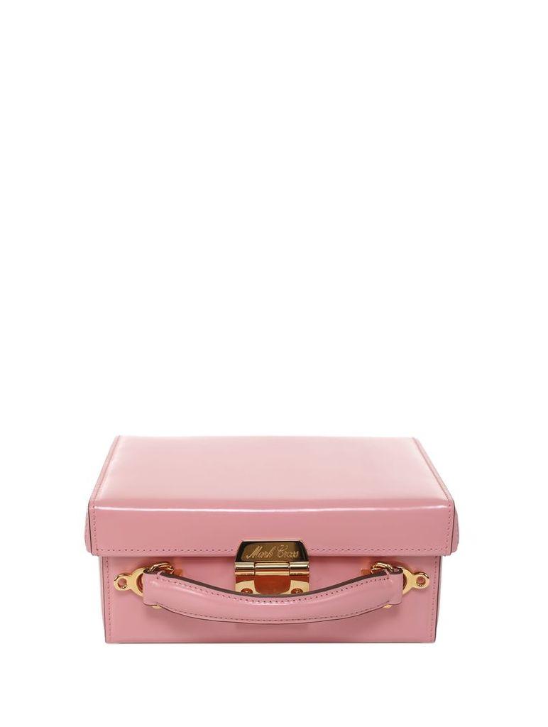 Mark Cross Pink Grace Small Box Bag