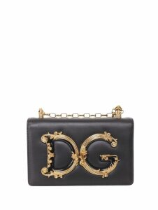 Dolce & Gabbana Black Dg Baroque Bag