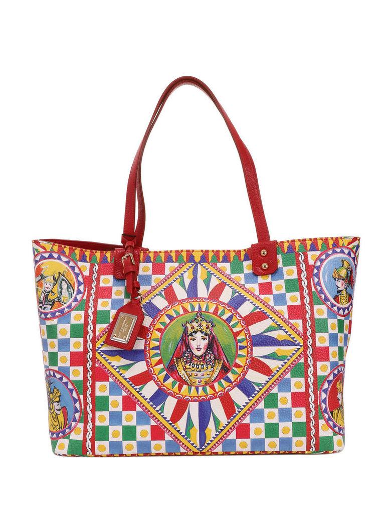 Dolce & Gabbana Carretto Regina Shopper