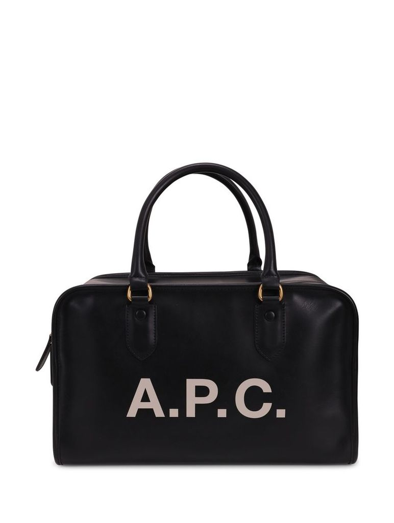 A.p.c. Black Sylvie Duffle Bag