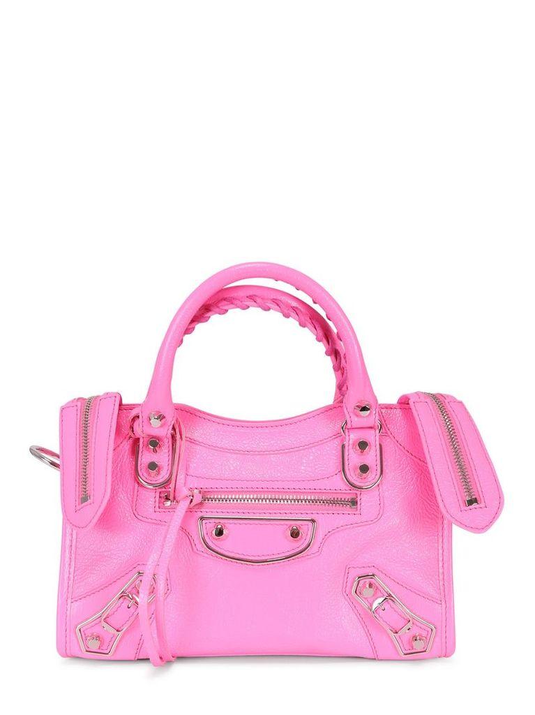Balenciaga Fluo Mini City Bag