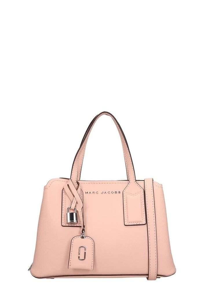 Marc Jacobs Pink Grained Leather The Editor 29 Bag