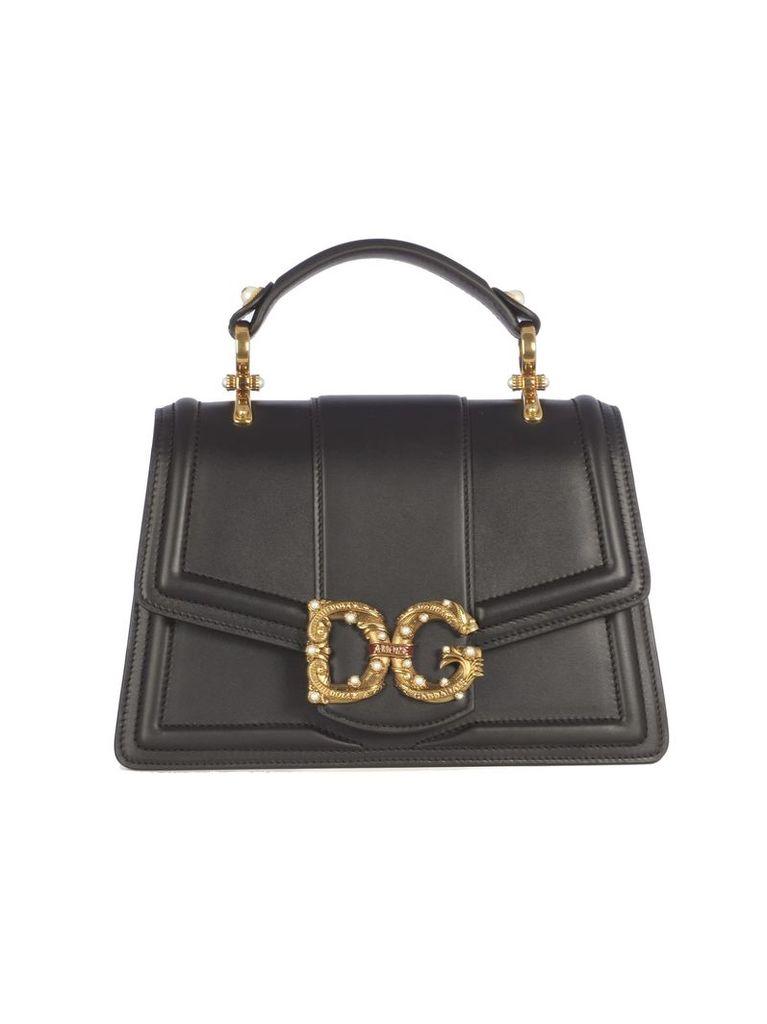 Dolce & Gabbana Logo Embellished Tote