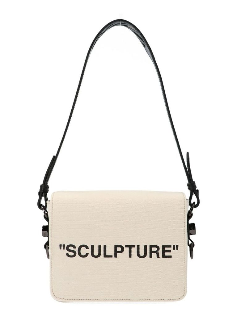 Off-white 'sculture Canvas Flap' Bag