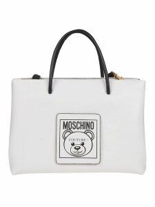 Moschino Logo Patch Tote