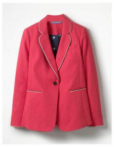 Lilah Cotton Blazer Pink Women Boden, Pink