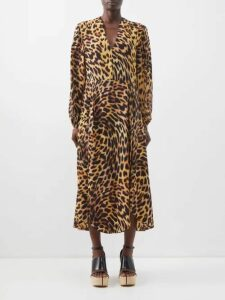 Blazé Milano - Diva Double Breasted Metallic Stripe Blazer - Womens - Pink Multi