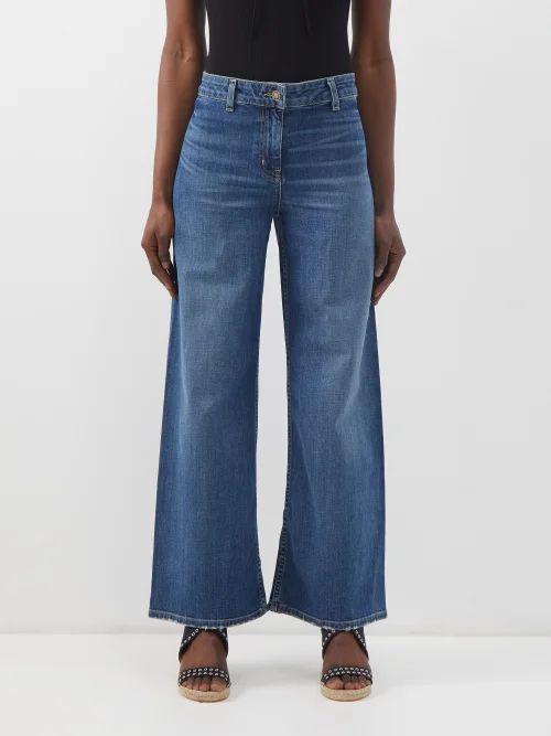 Lemaire - Asymmetric Foulard Cotton Ventile Blouse - Womens - Ivory