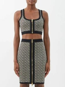 S Max Mara - Manche Dress - Womens - Light Pink