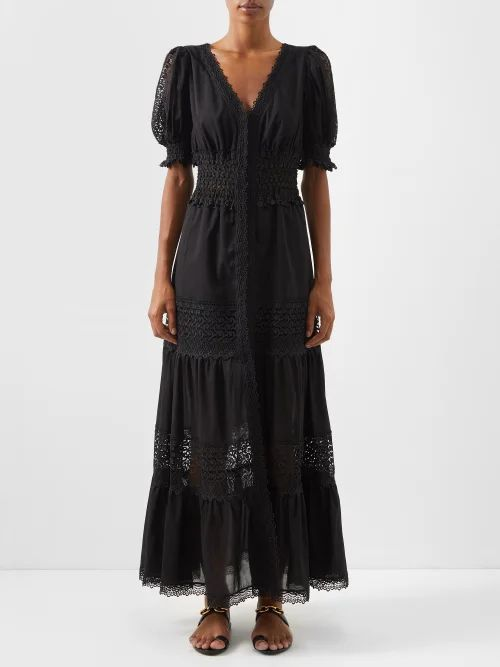 Pleats Please Issey Miyake - Asymmetric Neck Tech Pleated Top - Womens - Black