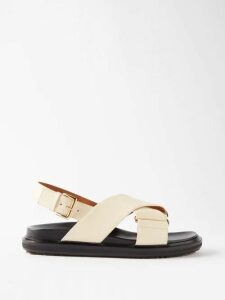 Dodo Bar Or - Martha High-rise Silk-satin Midi Skirt - Womens - Black White