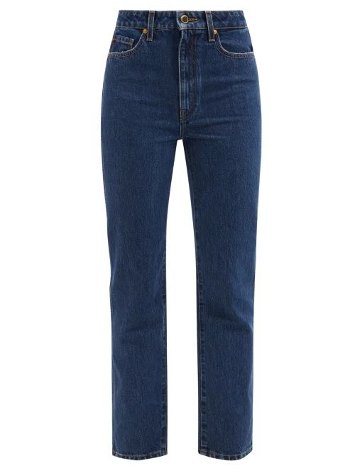 Lemaire - Single Breasted Voile Blazer Jacket - Womens - Black