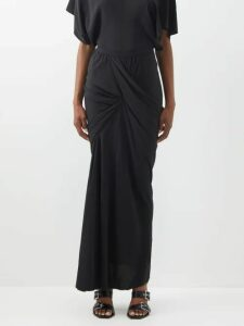 Emilia Wickstead - Nicoletta Off The Shoulder Lamé Gown - Womens - Pink