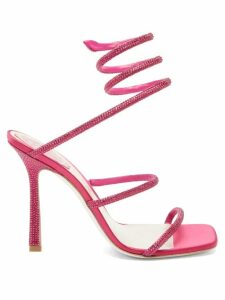 Etro - Abiti Paisley Print Silk Crepe Dress - Womens - Orange