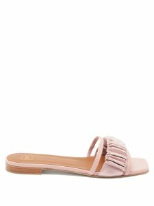 Rochas - Oncidium Leopard Brocade Pencil Skirt - Womens - Leopard