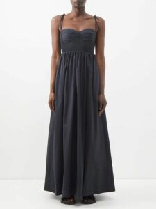 Dodo Bar Or - Zosha Floral Print Crepe Mini Dress - Womens - Orange White