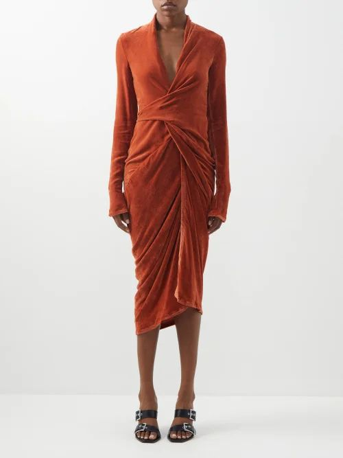 Blazé Milano - Nova Double Breasted Metallic Jersey Blazer - Womens - Silver