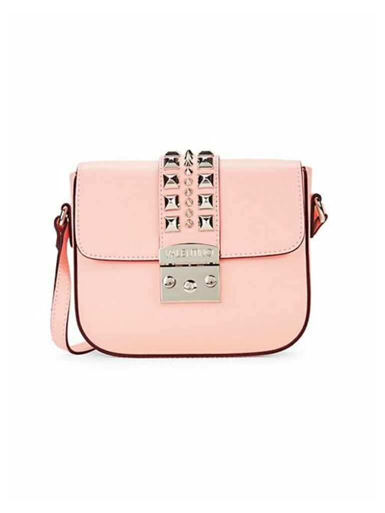 Melodie Pal Studded Leather Crossbody
