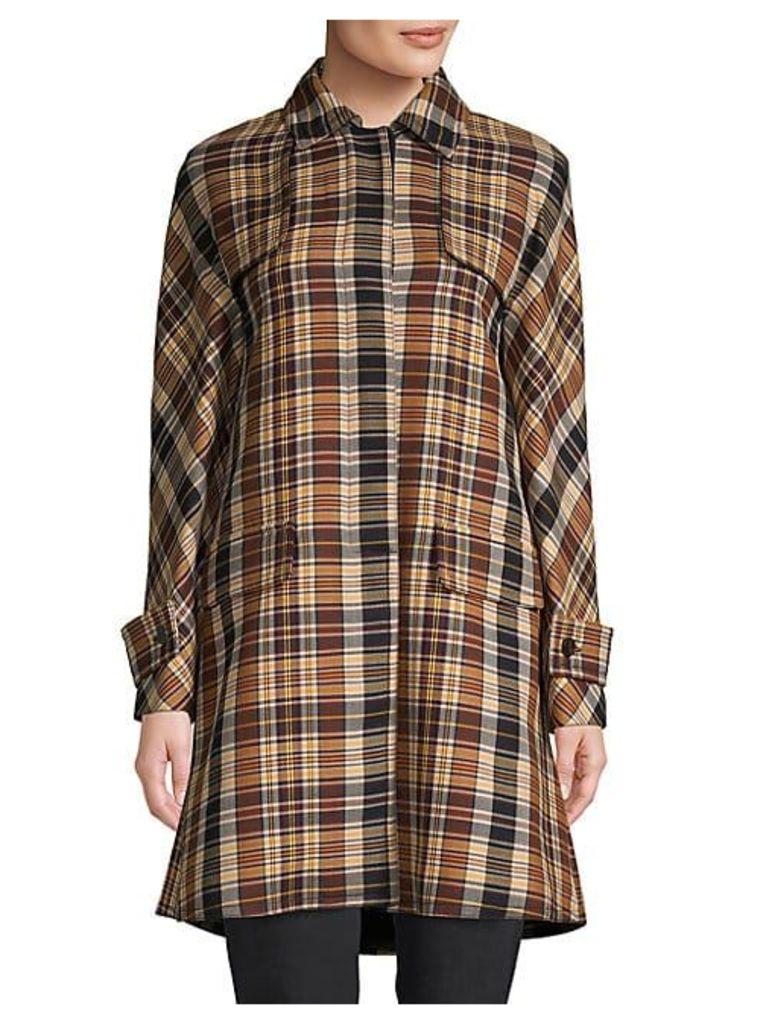 Cappotti Plaid Coat