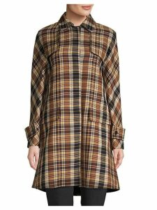 Cappotti Plaid Coat