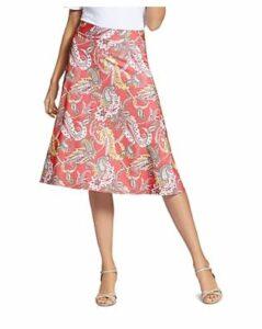 Basler Paisley-Print Skirt