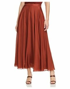 Lafayette 148 New York Ambria Silk Midi Skirt