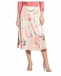 Basler Floral-Print Skirt
