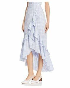 Bb Dakota Gingham Ruffle Skirt
