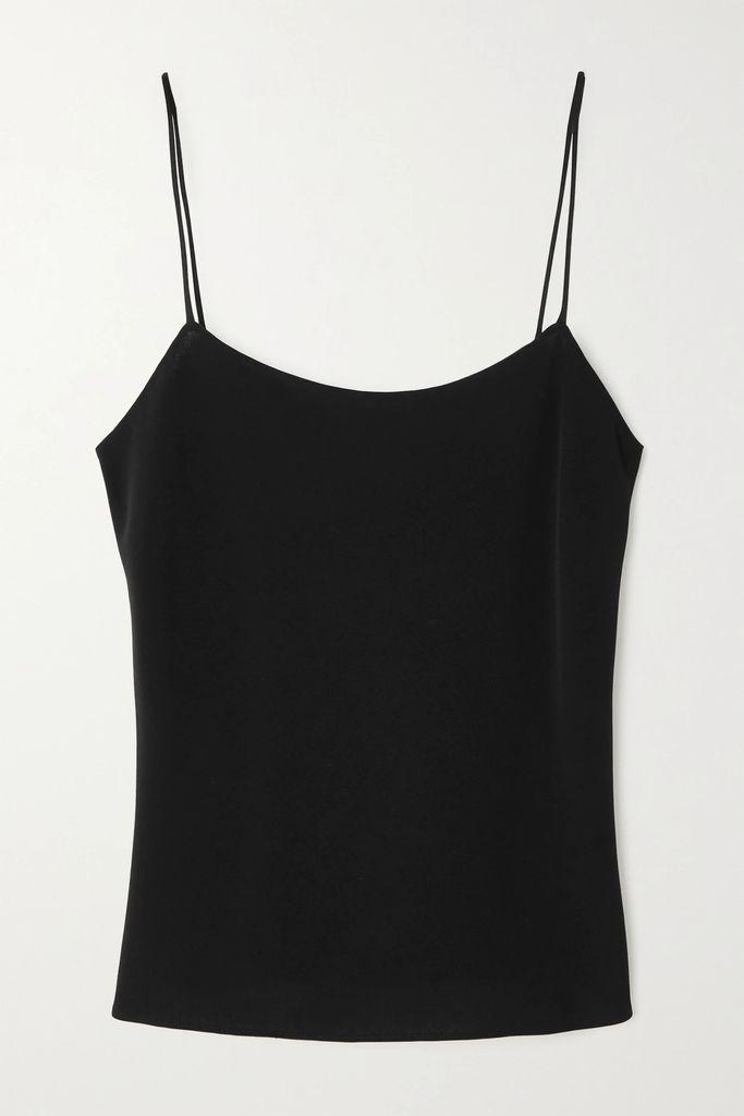 Valentino - Valentino Garavani Go Logo Escape Large Leather Tote - Black