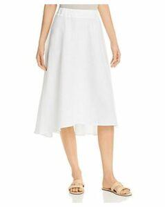 Three Dots A-Line Linen Skirt