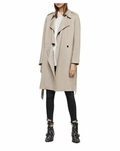 Allsaints Bexley Mac Trench Coat