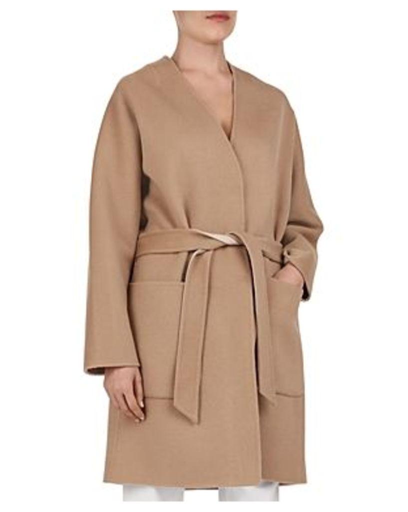 Gerard Darel Liam Reversible Wrap Coat