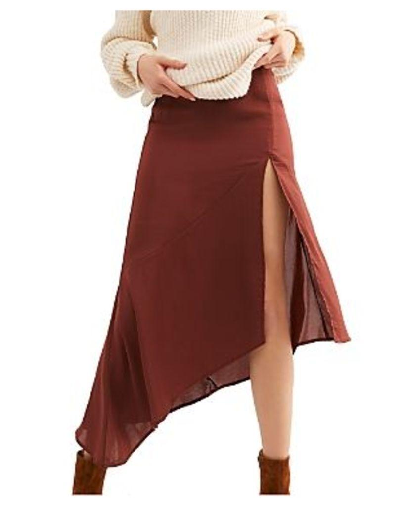 Free People Lola Asymmetric Skirt