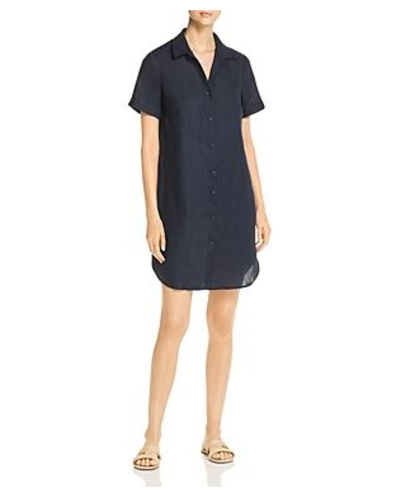 Three Dots Linen Shirt Dress