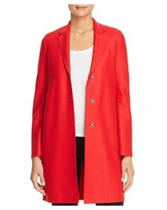 Harris Wharf Lightweight Wool Cocoon Coat